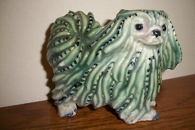 Unique Vintage Pekingese Figurine from Germany