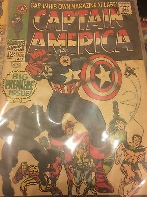 Captain America Comics sliver age comic NM CONDITION FT black panther