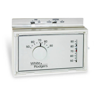 White Rodgers 1F56N-444 Non-Programmable, 1H/1C, Mechanical Thermostat