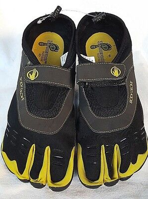 7263c1a084d7 BODY GLOVE MENS 3T Barefoot Max Water Shoe Black Yellow 13 M US ...