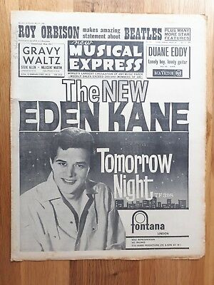 New Musical Express 31 May 1963 Jim Reeves Lonnie Donegan Benny Hill Mark Wynter