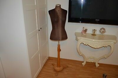 Antike Schneiderpuppe - Vintage - Brocante Antique Mannequin Dress Form - Uralt