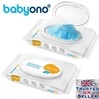 Scented nappy disposal sacks hygienic nappy bags 100 pcs Babyono