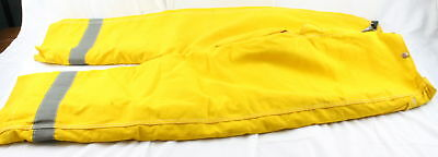 Globe DC Fire Dept Approved Size 36 Fire Retardent Protective Pants w/ Hook