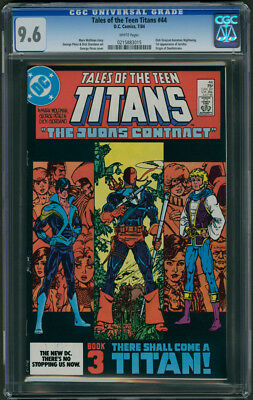Tales of the Teen Titans #44 CGC 9.6 - Pages (1st Appearance of Nightwing)