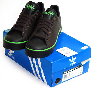 5ecf3974dca ADIDAS STAN SMITH Safety Steel Toe Cap Shoes Trainers Vintage Deadstock 8.5  42