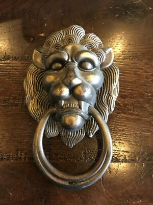 Lion Shape Handcrafted Antique Vintage Style Brass Door Knocker,Door Pull