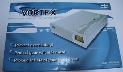 NEW Vantec Vortex VTX-C01-SL Hard Drive Cooling System with Temperature Display