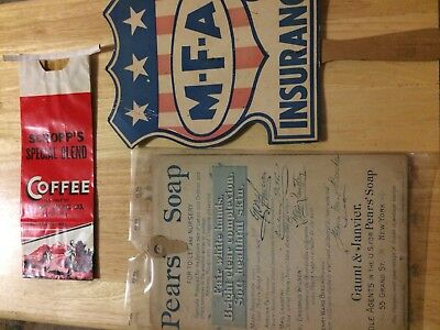 Vintage Advertising , Coffee, Soap and MFA