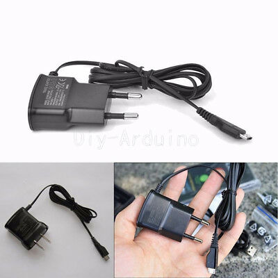 1X 5V Micro USB EU Plug Home Wall Charger For Samsung HTC LG Sony Cell Phones