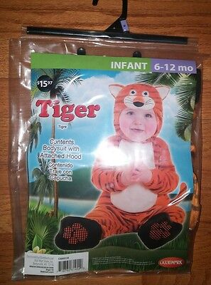 6-12 Months Tiger Costume - Halloween Costumes -  Animal - Baby Costume -  Nwt