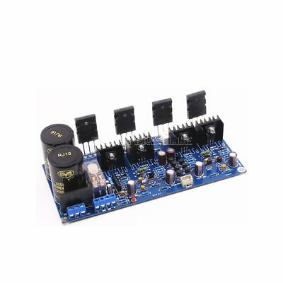 Assembled UPC2581 power AMP A1943//C5200 HIFI  2*125W stereo amplifier board
