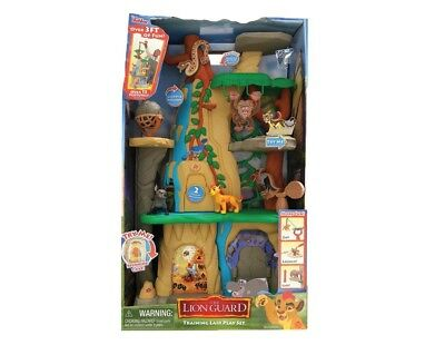 New DISNEY JUNIOR THE LION GUARD TRAINING LAIR PLAY SET 3ft Just Play