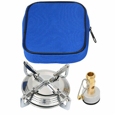 Compact Camping Gas Stove Single Burner Cooker Butane BBQ Outdoor Carry Case ZY