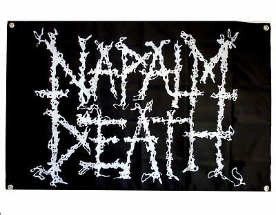 Napalm Death Logo Poster Flag Official Fabric Textile Banner