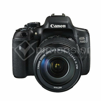 Canon EOS 750D + EF-S 18-135mm f/3.5-5.6 IS STM Kit Multi Stock in EU