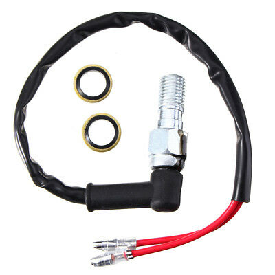 Motorcycle Hydraulic Pressure Brake Light Switch For Single Line Brake System HE