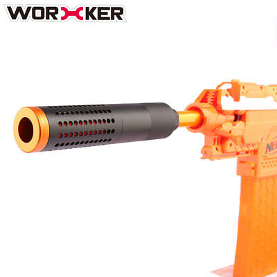 Worker Alloy Combined Inner Pipe L Aluminum Alloy Front Tube Decorator for Nerf