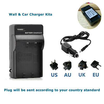 Battery NP-40 wall/car Charger for Fuji Fujifilm Finepix F650, F700, F710