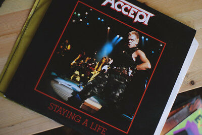 ACCEPT - STAYING A LIFE Vinyl