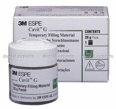 BEST ODDER FOR 10 DAYS..ESPE Cavit-G temporary filling material LOWEST PRICE :-)