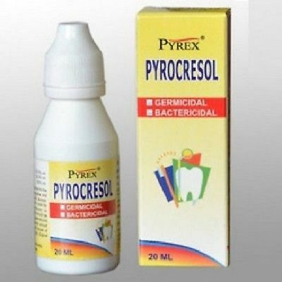 Pack of 3 x Pyrax PYROCRESOL Pulp devitalizer (Bottle of 20 ml)