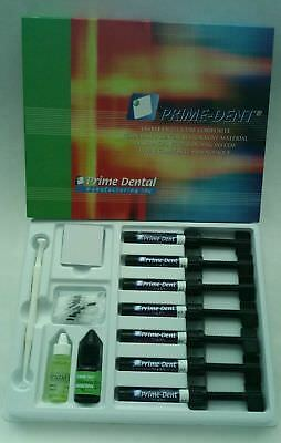 PrimeDent Visible Light Cure Composites and Bonding Adhesive Or Etchent
