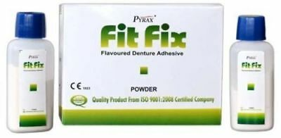 Pack of 10 x Pyrax Fit Fix Denture Adhesive (10 gm)