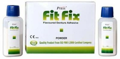 Pack of 5 x Pyrax Fit Fix Denture Adhesive (10 gm)