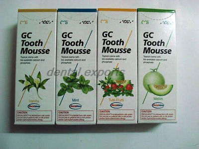2X GC Tooth Mousse GC FUJI ( ANY 2 ) FREE SHIPPING