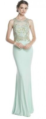 mother of the bride dress in Mint Green