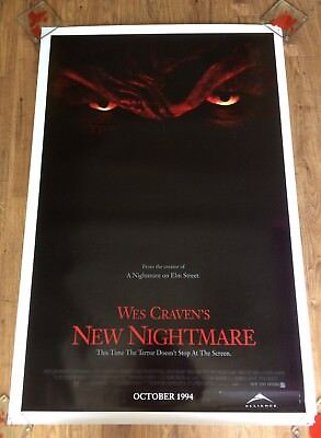 WES CRAVEN'S NEW NIGHTMARE Original One Sheet Movie Poster - HORROR