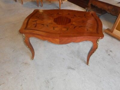Table Basse En Bois De Rose Et Bronze