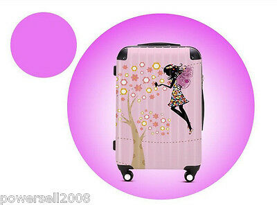 "28"" Lovely Dream Girl Universal Wheel ABS+PC Pull Rod Box Luggage Box #39 LLX"
