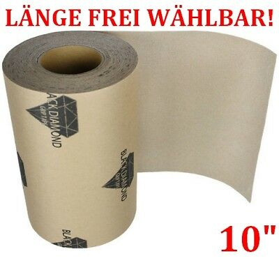 "BLACK DIAMOND Longboard & Skateboard Griptape CLEAR 10"" < Länge FREI wählbar >"