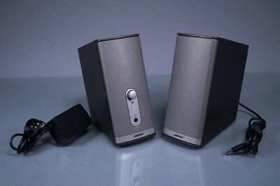Bose Companion 2 Series Ii Multimedia Speaker System ~ L@@k!!
