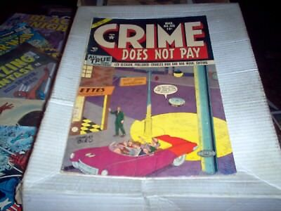 Crime Does Not Pay Vol.1 # 108 Biro Art Rare Look Fn+