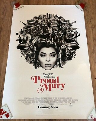 PROUD MARY Original One Sheet Movie Poster-ACTION