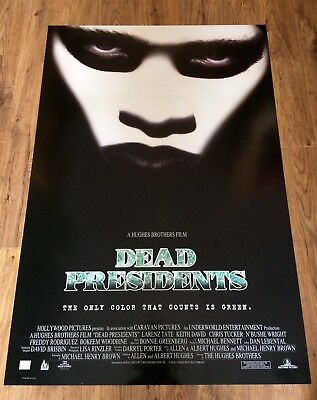DEAD PRESIDENTS Original One Sheet Movie Poster-ACTION