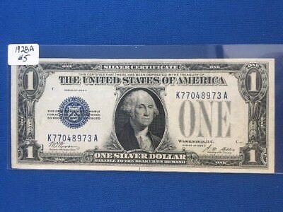 1928-1928A $1 Silver Certificate! *FUNNY BACK* CRISP XF! Old US Paper Money!