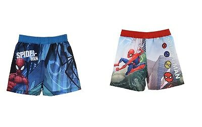 Short de Bain Maillot de Bain Spiderman