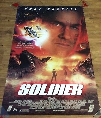 SOLDIER Original One Sheet Movie Poster-ACTION