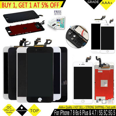For iPhone 6S 6 7 8 Plus iPhone LCD Touch Screen Replacement Digitizer Assembly
