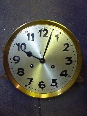 Original 1930s Wall Clock Spring Driven Ting Tang Striking Movement+Dial