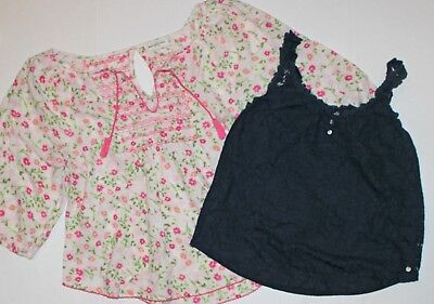 Abercrombie & Fitch Womens Set Lot of 2 Knit Top Shirt Small / Medium S/M