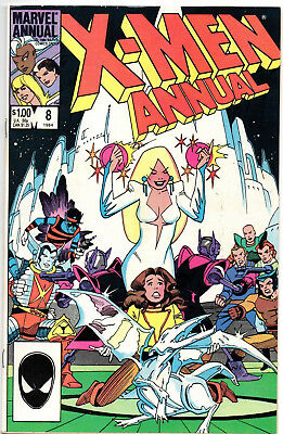 X-Men Annual #8 (1984, Marvel) Fine/VF