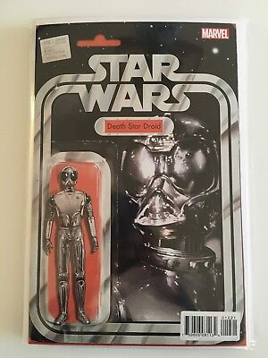 Star Wars #16 Action Figure Variant 'Death Star Droid'