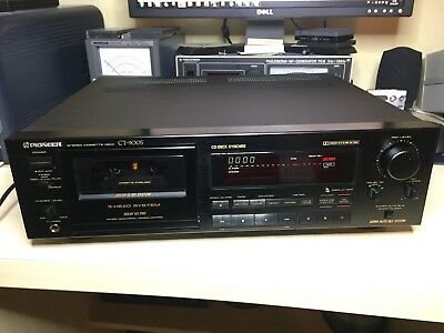 Pioneer CT-900S Cassette Deck Doby B, C, S HX PRO Boxed Fully Serviced Mint Cont