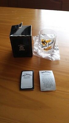 Jack Daniels Legends Uncle Jack's Shot Glass Limited Free Shipping!!!!