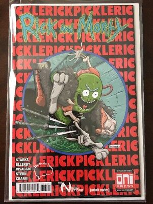 Rick and Morty #35 Alex Cormack's Brain Trust Variant ASM 300 Homage Pickle Rick